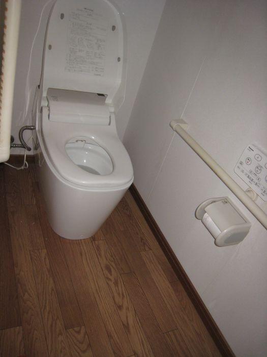 トイレはアラウーノ!