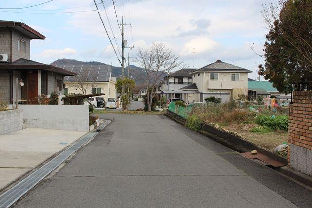 前面道路 北側から撮影