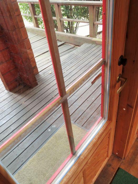 木製ペアガラスサッシ