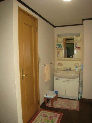 洗面台、トイレ(洋式)は改装・下水接続済