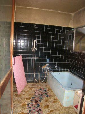 浴室は未改装