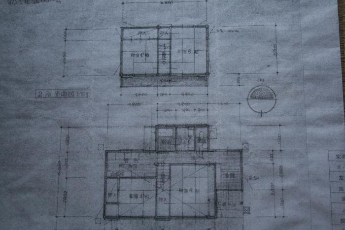 1Fと2F平面図