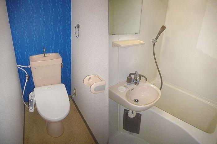 トイレはウォッシュレットになります。