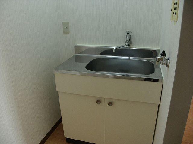 給湯室も備えています。