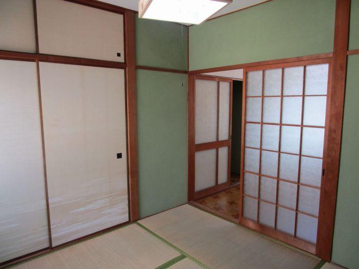 2階:和室4.5帖。