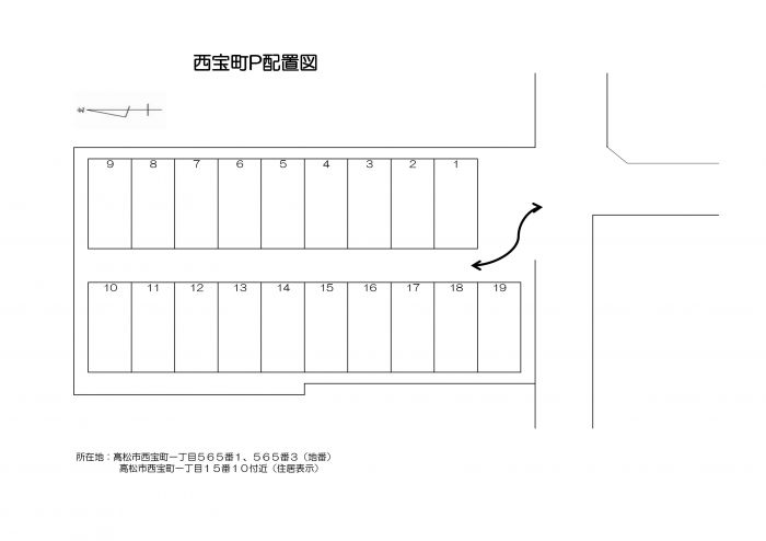 区画図(配置図)